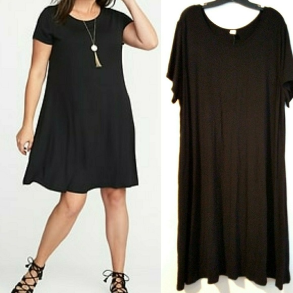 50e98eb315b 3X Old Navy Plus Size Jersey-Knit Swing Dress NWT